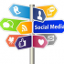 Social Media Sign [Image ? arrow - Fotolia.com]