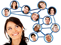 Social Media Connections [Photo Credit: - Andres Rodriguez - Fotolia.com]
