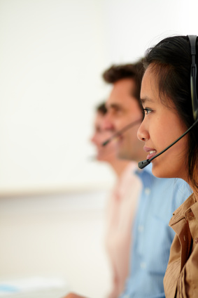 Call Center Team [Image Credit: pablocalvog - Fotolia.com]