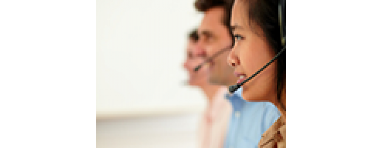 Call Center Team [Image Credit: Fotolia.com ? pablocalvog]